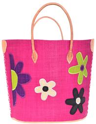 Женская пляжная сумка LE COMPTOIR DE LA PLAGE Majunga-Rita-Fuchsia-006