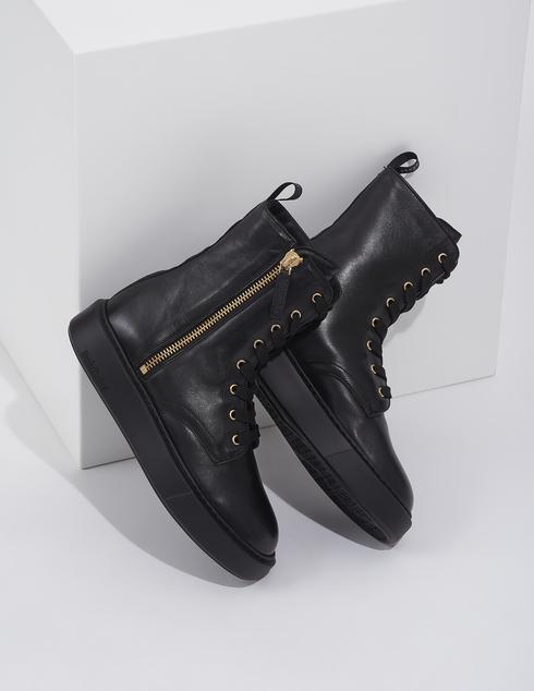 женские черные Ботинки Baldinini AGR-D2BG09NAPP0000 - фото-2