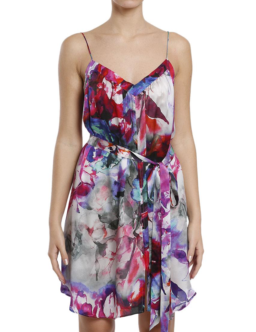 Купить Платья, Платье, PLEIN SUD, Многоцветный, 100%Шелк, Осень-Зима