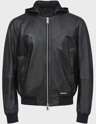 ARMANI EXCHANGE кожаная куртка