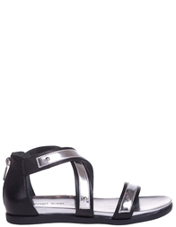 Женские сандалии ARMANI JEANS 5582-silver