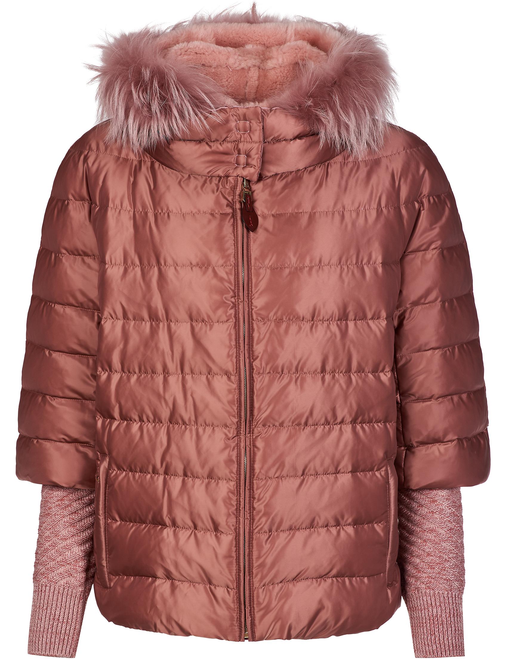Купить Куртки, Куртка, GALLOTTI, Розовый, 100%Полиэстер;48%Акрил 48%Шерсть 3%Полиамид 1%Эластан, Осень-Зима