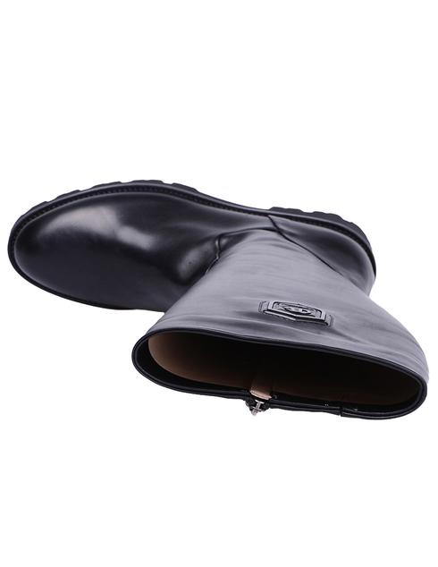 женские черные кожаные Сапоги Baldinini 719947PNAGO00F - фото-5