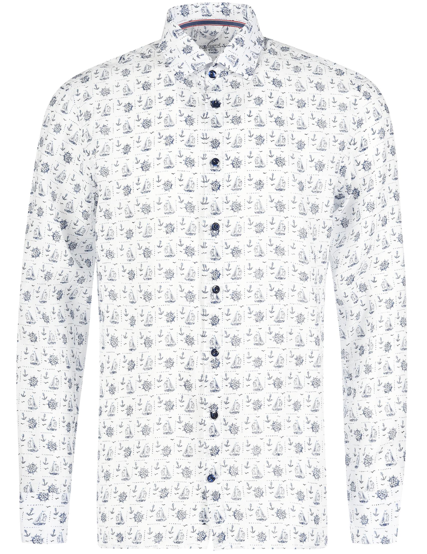 Купить Рубашки, Рубашка, VAN LAACK, Белый, 100%Лен, Весна-Лето