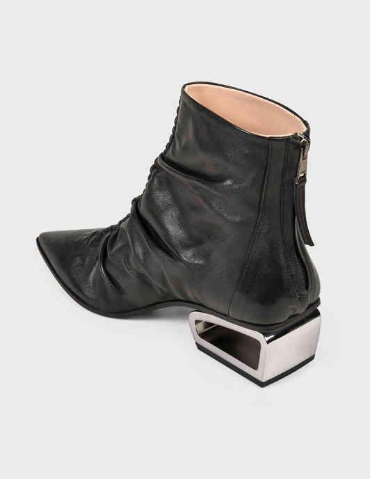 черные женские Ботильоны Fru.It 6267-black 6743 грн