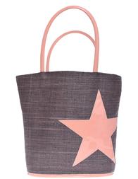 Женская пляжная сумка LE COMPTOIR DE LA PLAGE Paradise-Taupe-019