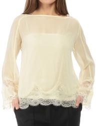 Женская блуза TWIN-SET TA52Y2NUDE