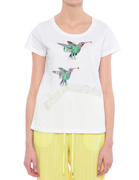 Женская футболка SILVIAN HEACH CVP17699TS-bianco