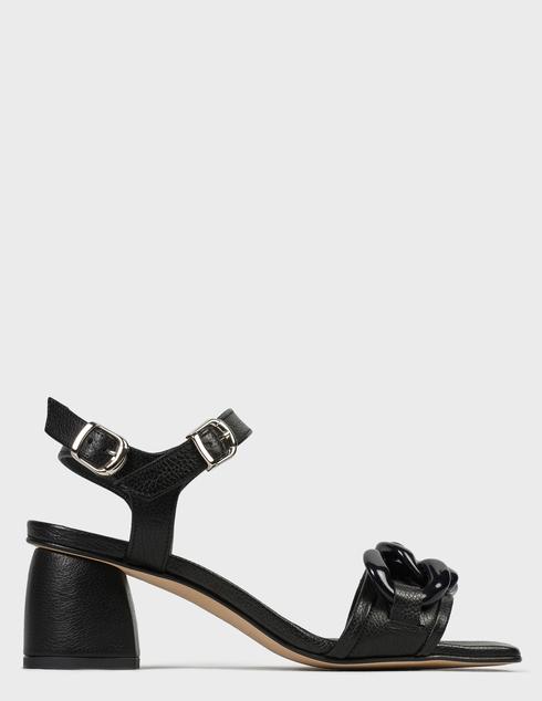 женские черные Босоножки Pertini 211W30918D2 - фото-6