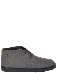 Детские ботинки для мальчиков  TOD'S UXCB607_gray