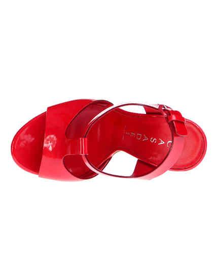 женские красные Босоножки Casadei 3088_red - фото-7