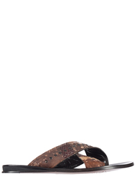 Мужские шлепанцы Gianfranco Butteri 7901_brown