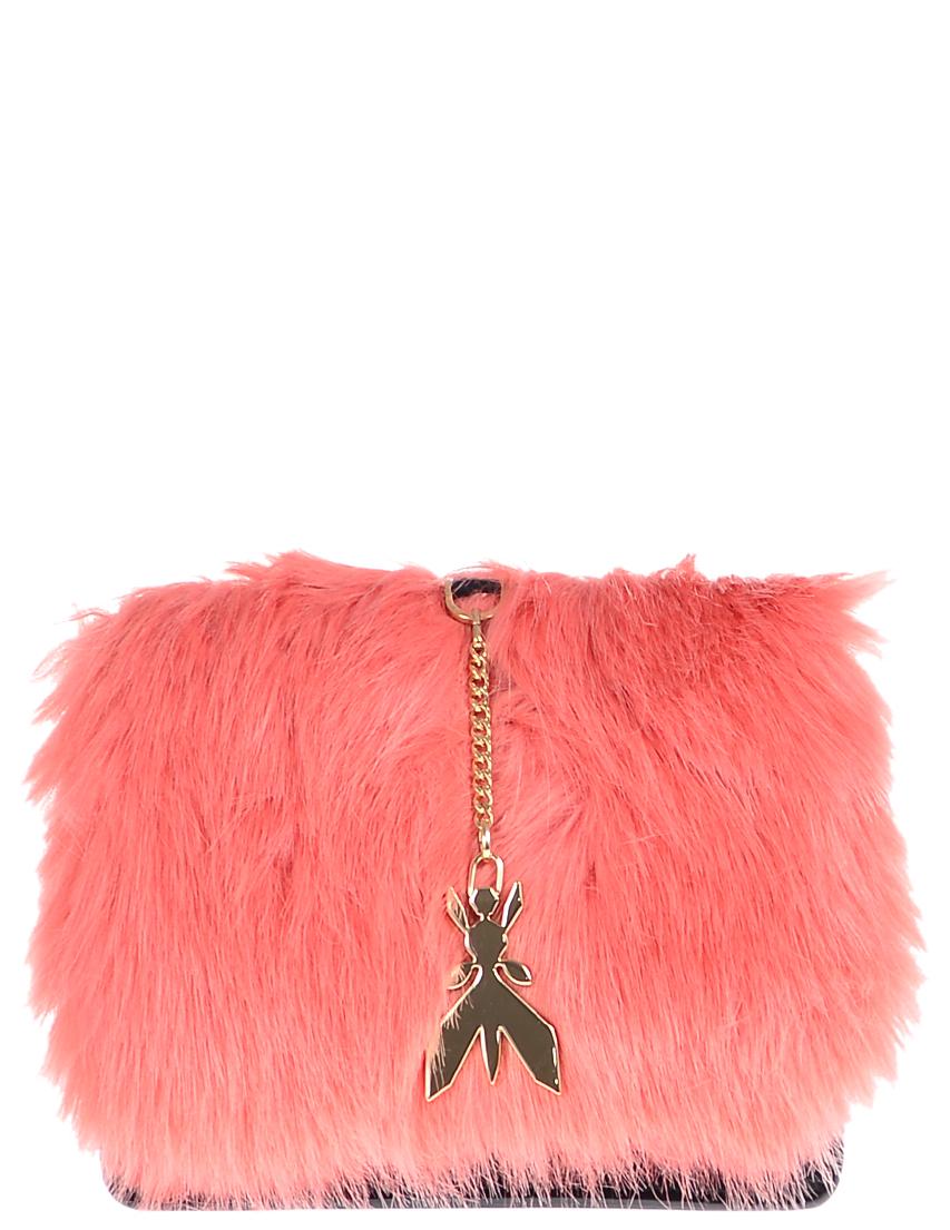 Купить Женские сумки, Сумка, PATRIZIA PEPE, Розовый, Осень-Зима