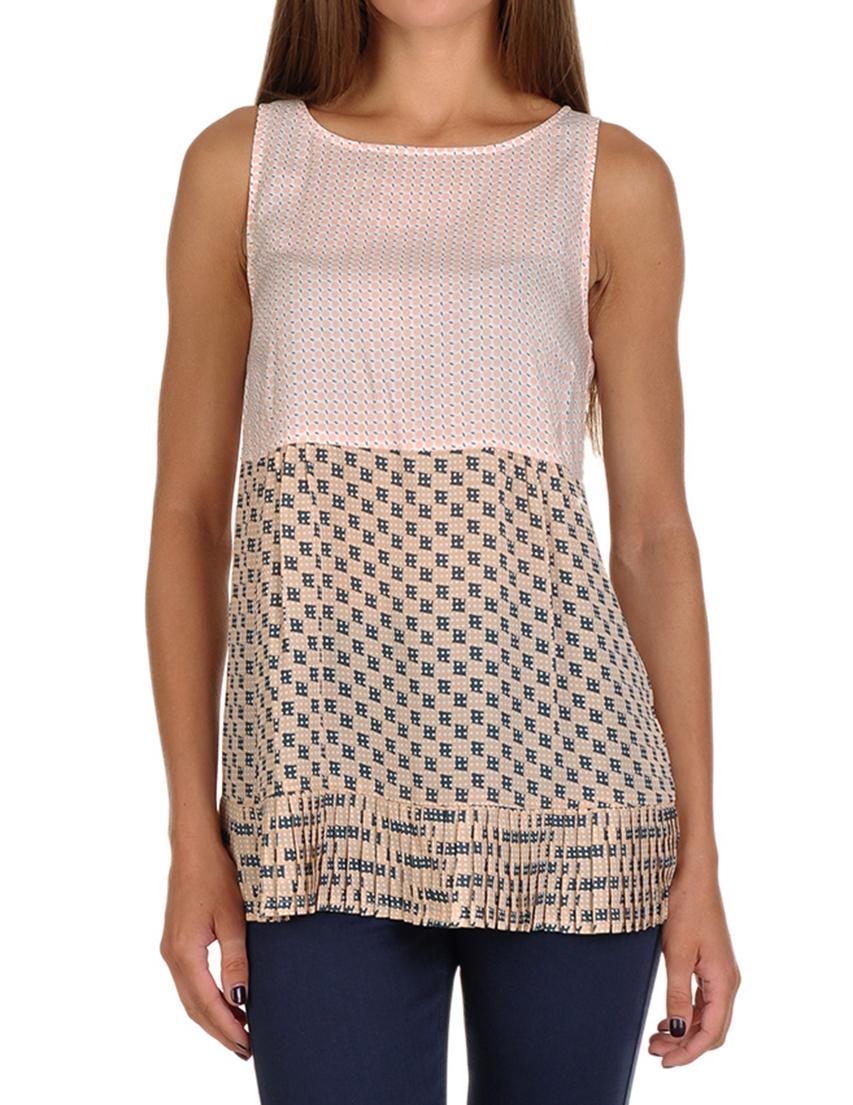 Купить Блузы, Блуза, PATRIZIA PEPE, Многоцветный, 100%Вискоза, Осень-Зима