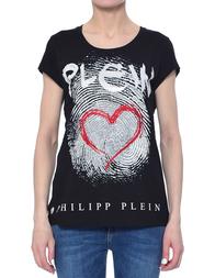 Женская футболка PHILIPP PLEIN 0058_black