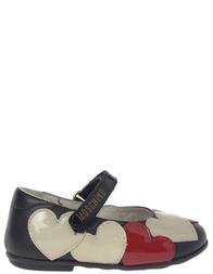 Детские туфли для девочек MOSCHINO 25351_black