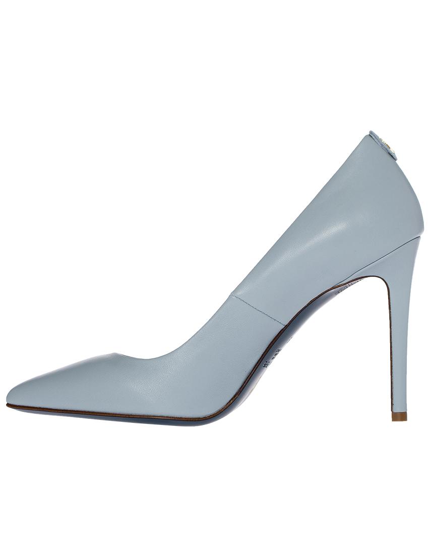 Фото 3 - женские туфли  голубого цвета