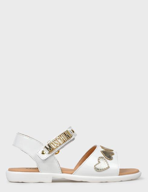 Moschino 26139-bianco-oro-white фото-6