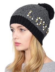 Женская шапка PATRIZIA PEPE 2V7498-AI39-K303_black
