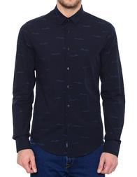 Мужская рубашка ARMANI JEANS 6Y6C09-6NMGZ_blue