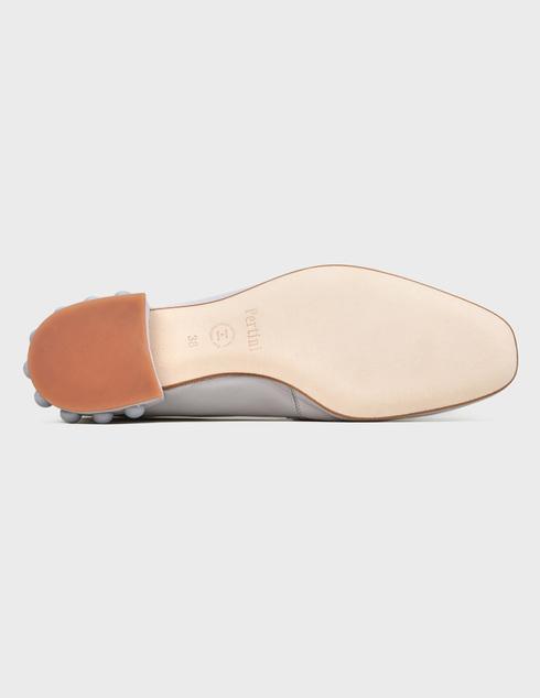 серые Туфли Pertini 201W16758D2 размер - 38; 38.5