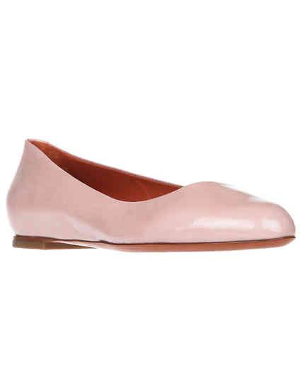 женские розовые Балетки Santoni S56527_pink - фото-2