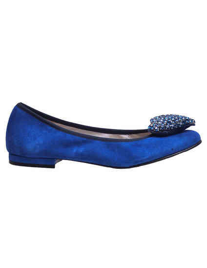синие женские Балетки To Be Kuki_blue 3277 грн