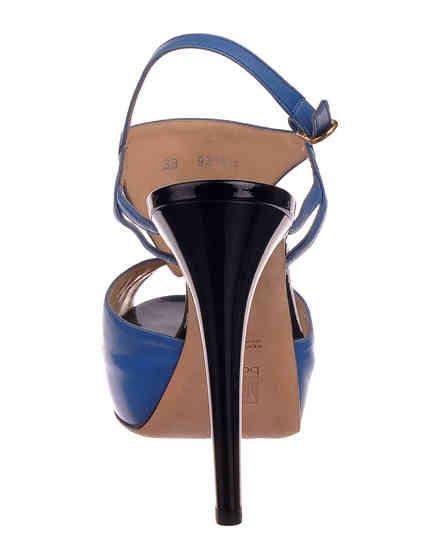 женские синие Босоножки Ballin 921315 - фото-2