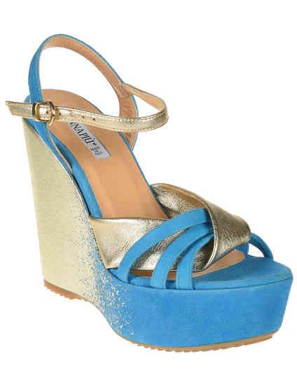 женские голубые Босоножки Donna Piu 51141_blue - фото-2