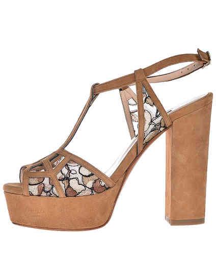 коричневые женские Босоножки Albano 9337-cappucino_brown 1515 грн