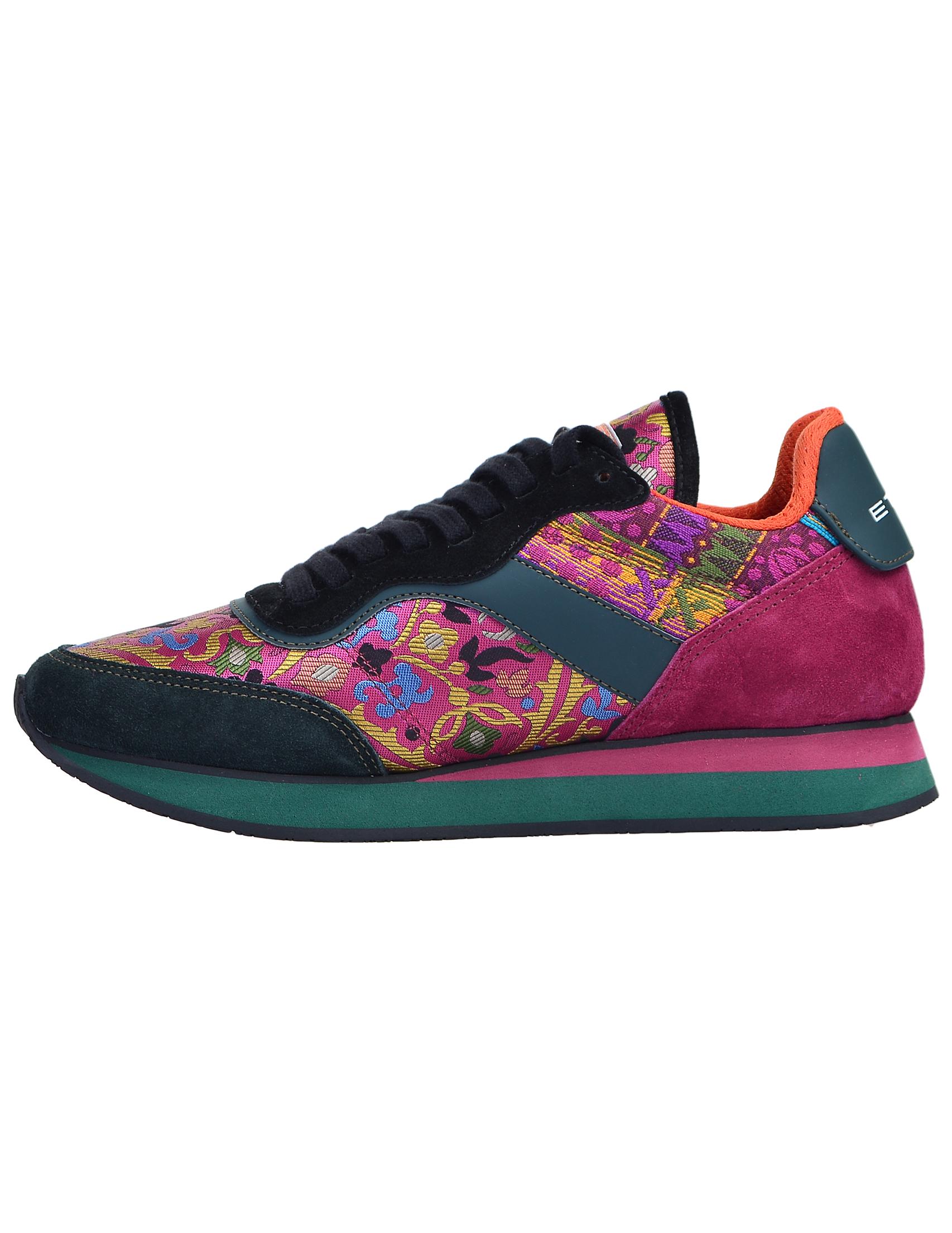 Фото 5 - женские кроссовки  цвет многоцветный