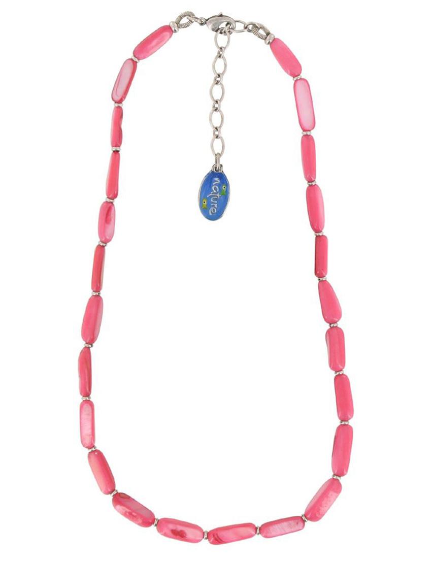 Купить Ожерелья, Ожерелье, NATURE BIJOUX, Розовый, Весна-Лето