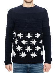 Мужской свитер ANTONY MORATO SW00675YA400072-7052_blue