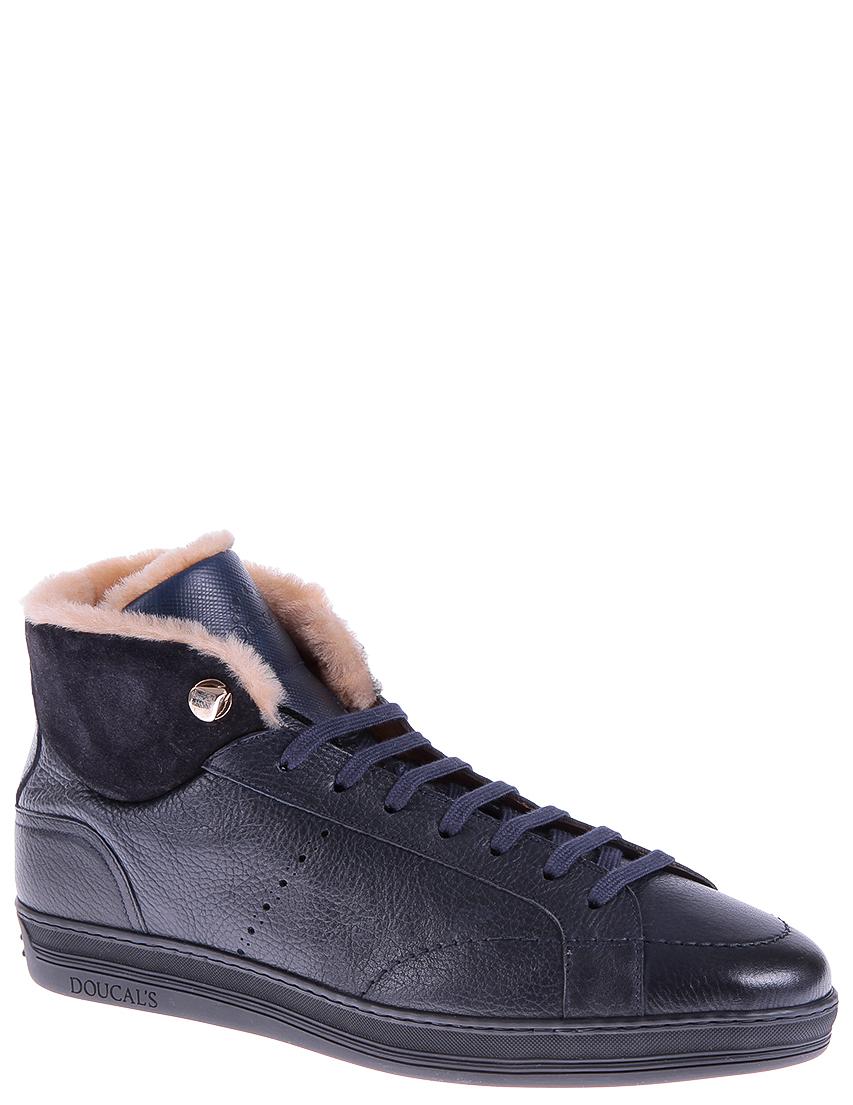 Купить Ботинки, DOUCAL'S, Синий, Осень-Зима