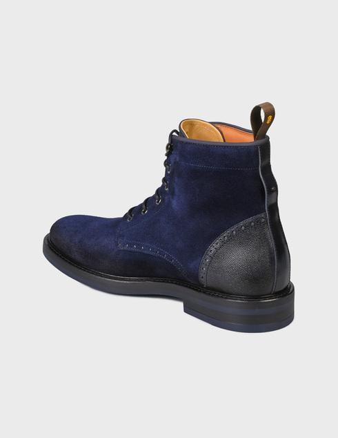 мужские синие Ботинки Brimarts 320800 - фото-2
