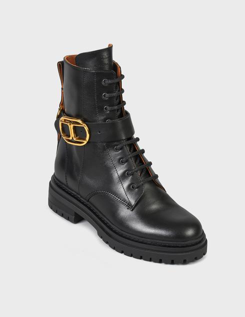 черные Ботинки Elisabetta Franchi SA-25B-16E2-V520-110