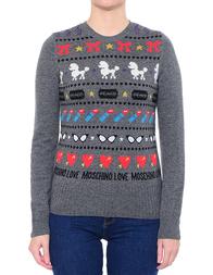 Женский свитер LOVE MOSCHINO S87G00XA018-B93_gray