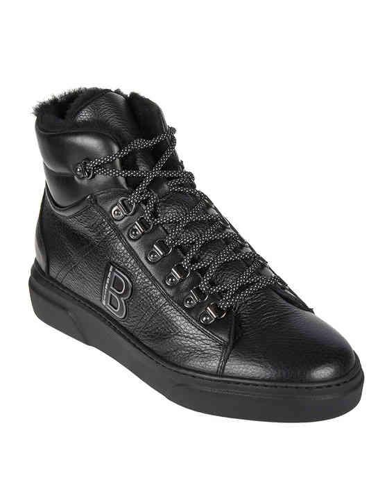 мужские черные Ботинки Bagatto AGR-1701-black - фото-2