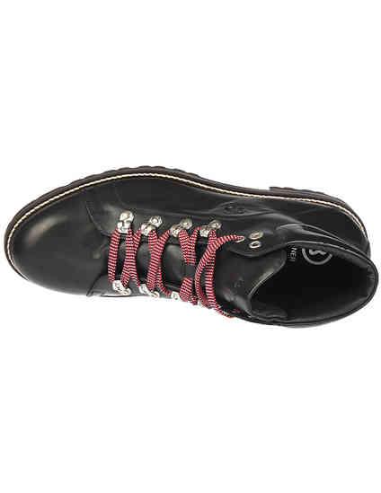 мужские черные кожаные Ботинки Bogner 183-D531-01 - фото-5