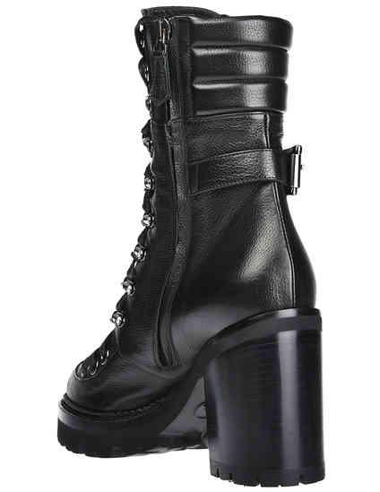 черные женские Ботинки Nando Muzi 215-black 13151 грн