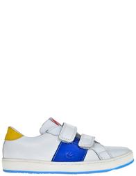 Детские кроссовки для мальчиков Naturino 4061-bianco-azzurro_white
