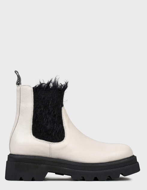 женские бежевые Ботинки Voile Blanche 0012501958.01.1B83 - фото-6