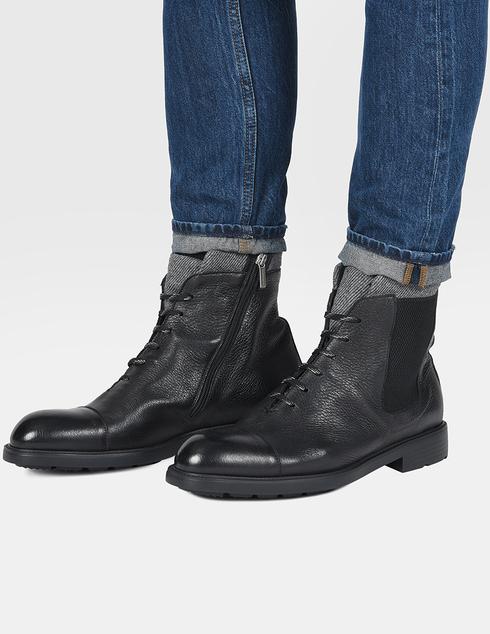 черные Ботинки Moreschi 42865