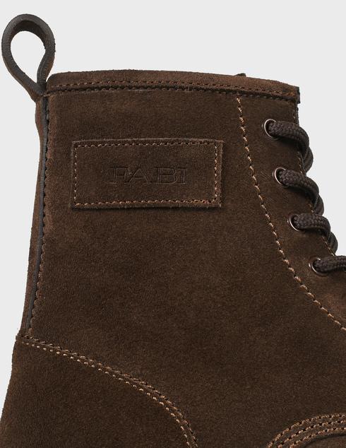 мужские коричневые замшевые Ботинки Fabi FU0313A-805 - фото-5