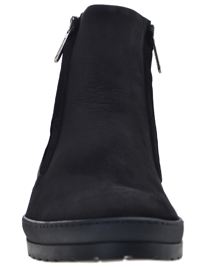 Фото 4 - мужские ботинки и полуботинки  черного цвета