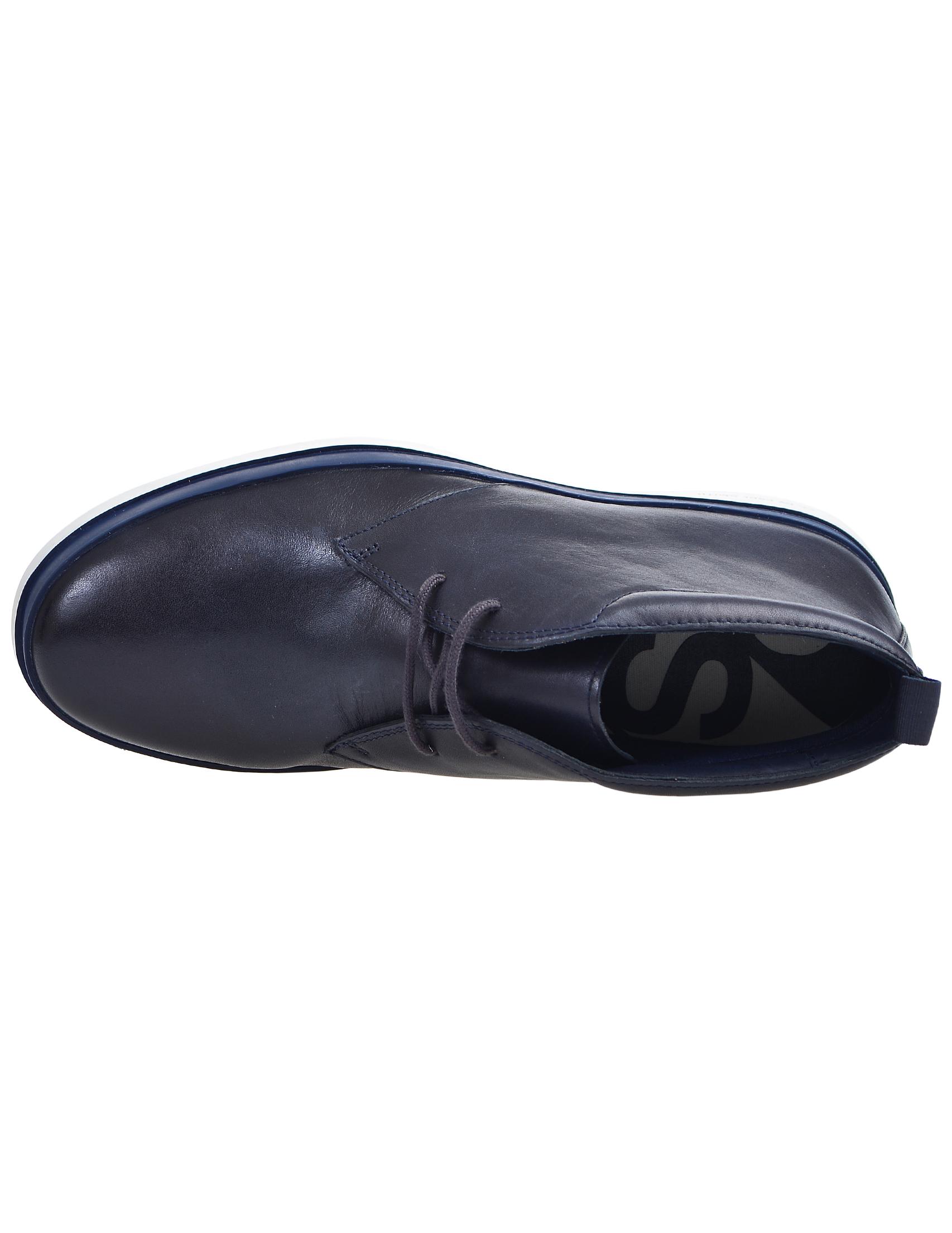 Фото 7 - мужские ботинки и полуботинки  синего цвета