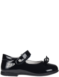 Детские туфли для девочек Naturino 4524-vernice-blue_black
