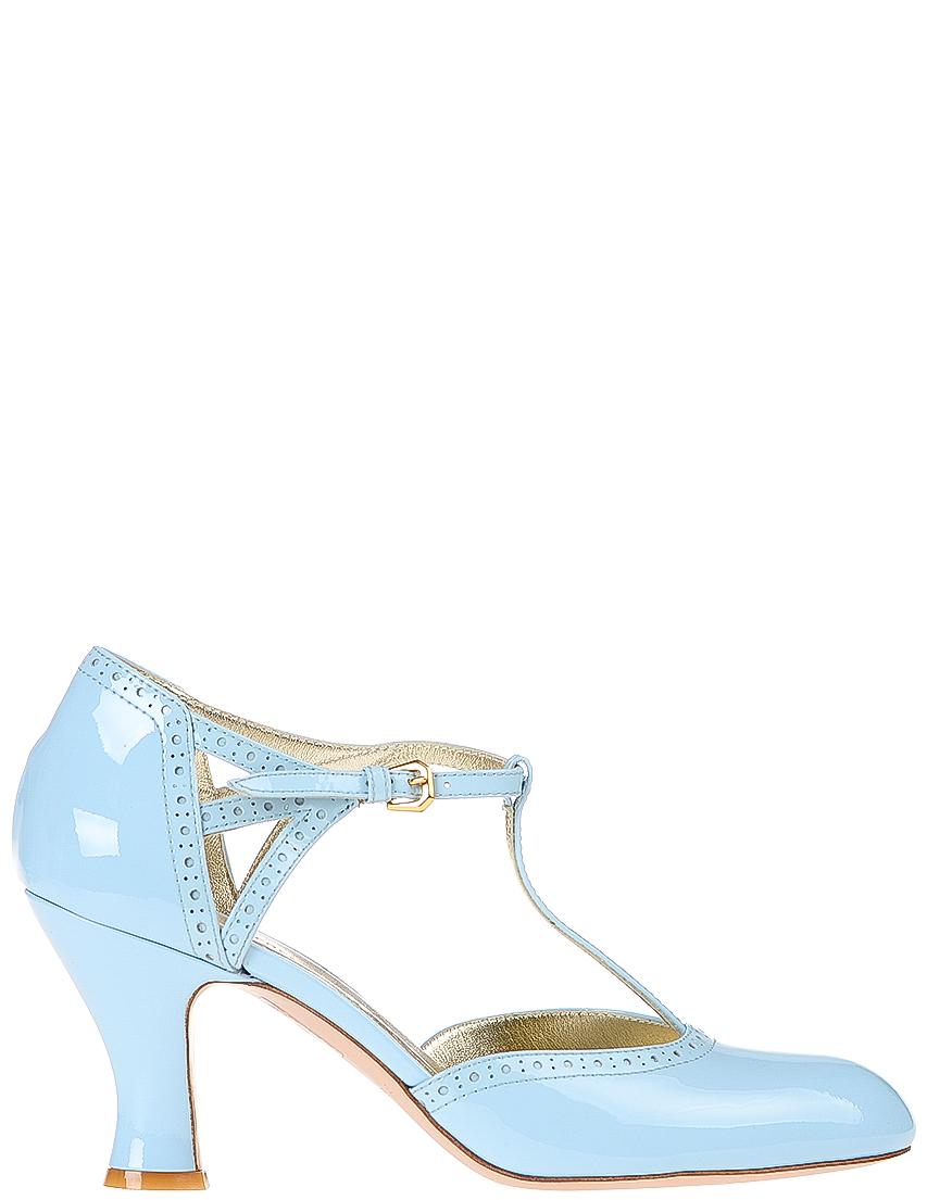 Купить Туфли, INES DE LA FRESSANGE, Голубой, Весна-Лето