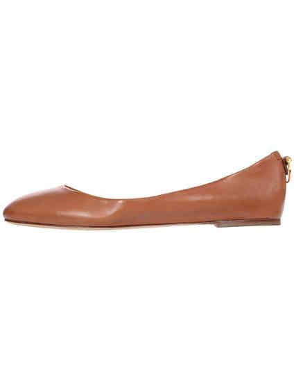 коричневые Балетки Ines de la Fressange G2619_brown размер - 37