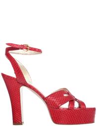 Женские босоножки Ines de la Fressange G2318_red